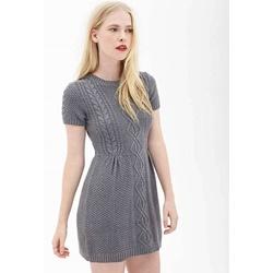 Đâm len xám, hiệu F21 | Thời trang - Trang sức