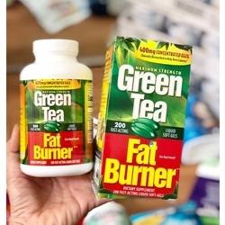 Viên Uống Giảm Cân Từ Trà Xanh GREEN TEA FAT BURNER 200 Viên   Thuốc giảm cân