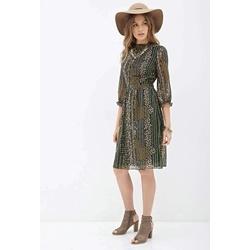 Đầm Floral Print Midi Dress | Thời trang - Trang sức