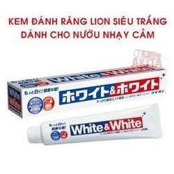 Kem đánh răng White & white 150g | Sức khỏe -Làm đẹp