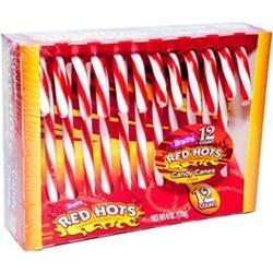 Kẹo gậy Red Hots 12 cây | Các loại bánh kẹo, socola
