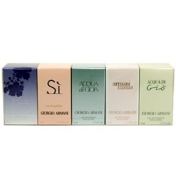Set nước hoa Giorgio Armani For woman 5 PC Mini | Sức khỏe -Làm đẹp
