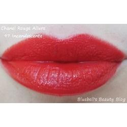 Son Chanel Rouge Allure 97 incandescente (unbox) | Sức khỏe -Làm đẹp