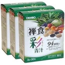 Bột rau xanh Ạojiru của Orihio | Thuốc bổ