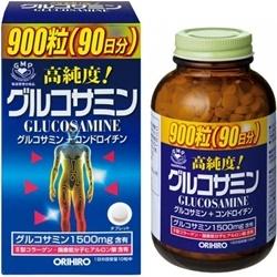 Thuốc bổ xương khớp Glucosamine Orihiro Nhật 1500mg (900 viên) | Thuốc bổ