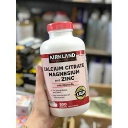 Thuốc bổ xương Calcium Citrate Magnesium and Zinc with Vitamin D3  | Thuốc bổ