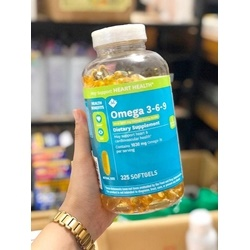 Omega 3-6-9 , 325 viên | Thuốc bổ