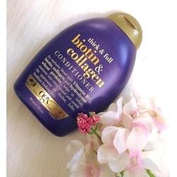 Dầu xả làm dày và dài tóc OGX Thick and Full Biotin and Collagen , | Tóc
