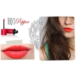 Review Son Bourjois màu 03 hot pepper | Son môi