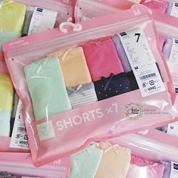 Set 7 quần lót Cotton của GU      | Quần áo cho nữ
