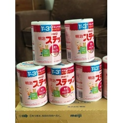 Sữa Meiji từ 1-3 tuổi             | Sữa