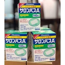 Cao dán giảm dau nhức Salonpas Nhật Bản hộp 140 miếng             | Sức khỏe -Làm đẹp