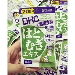 viên uống dưỡng trắng mịn da DHC 20 VIÊN              | Da mặt