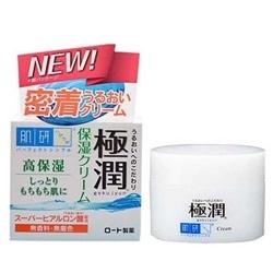 Kem dưỡng ẩm Hadalabo gokujun hyaluronic cream 100g            | Da mặt