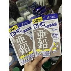 Viên kẽm DHC gói 60 viên                  | Thực phẩm chức năng