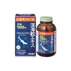 Sụn vi cá mập Squalene ORIHIRO 360v Nhật Bản     | Thuốc bổ