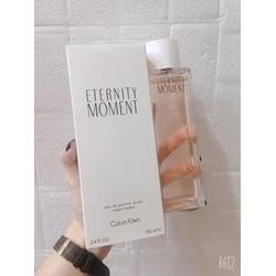 Nước hoa Tester CK Eternity moment edp, 100ml | Nước hoa nữ giới