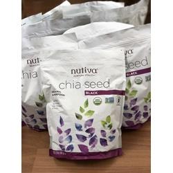 Hạt chia đen Nutiva   | Thực phẩm - Tiêu dùng