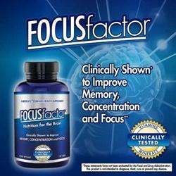 Thuốc Focus Factor tăng cường trí nhớ,150 viên