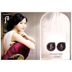 Kem dưỡng Lưu Hoàn Cao Hwanyu Cream 2 vỉ, 0.6ml/vỉ