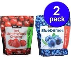 Hộp 2, gói Cherry sấy khô và Việt Quất sấy khô , mỗi gói 567g