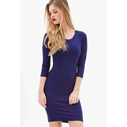 Đầm Stretch-Knit Bodycon Dress