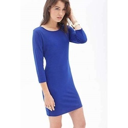 Đầm Long-Sleeved Sheath Dress