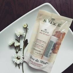 Kem dưỡng da tay Nuxe, 30g + Son dưỡng môi Nuxe