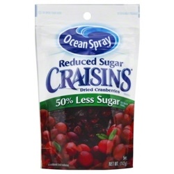 Nho Sấy Khô Ocean Spray Craisins 50% Less Sugar 150 g