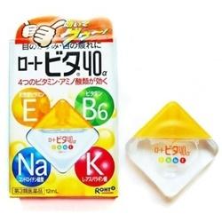Thuốc nhỏ dưỡng mắt Rohto Vita 40-Alfa - Nhật Bản
