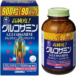 Thuốc bổ xương khớp Glucosamine Orihiro Nhật 1500mg (900 viên)