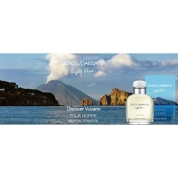 Nước hoa DG light blue discover vulcano, 100ml