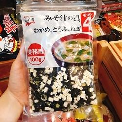 Rong biển đậu hũ khô Nagaya gói 100g