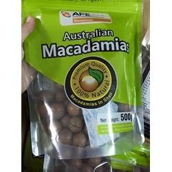 Hạt Macadamia nguyên hạt của Úc ,  gói 500g