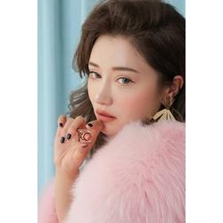 Son môi 3CE x Lily Maymac Matte Lip Color Hold On 119 hồng nâu