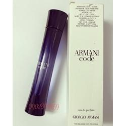 Nước hoa nữ Armani code 75ml, tester
