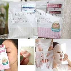 Mặt nạ Quality All in One Sheet Mask Moisture – Màu hồng