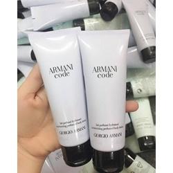 Dưỡng thể thơm hương nước hoa Armani code 75ml