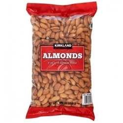 Hạt hạnh nhân không muối Kirkland 1.36kg
