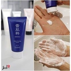 Sữa Rửa Mặt Kose Sekkisui White Washing Cream 80g