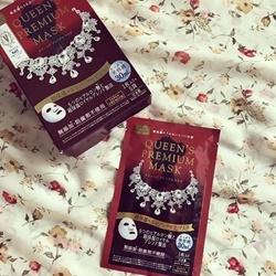 Mặt Nạ Dưỡng Da màu đỏ dưỡng ẩm và chống lão hoá Quality First Queen's Premium Mask High-Moisture & Aging Care Mask