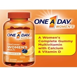 Kẹo Vitamin One A Day Women's VitaCraves Gummies