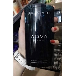 Gel tắm gội hương nước hoa BVL aqua pourhomme 200ml