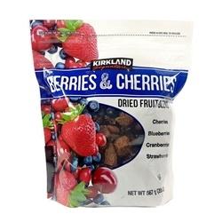 Trái Cây Tổng Hợp Kirkland Signature Berries & Cherries Dried Fruit Blend 567g
