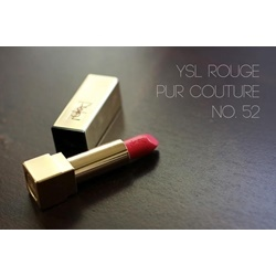 Son YSL Rouge Pur Couture màu 52 Rosy Coral