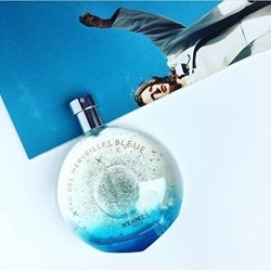 Nước hoa Eau de Merveilles Bleu của Hermes tester 100ml