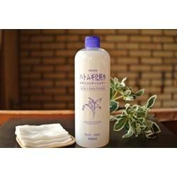 Nước hoa hồng ý dĩ Hatomugi, chai 500ml