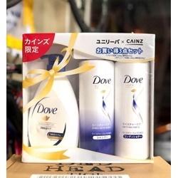 sét dầu gội xả Dove
