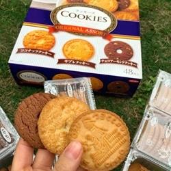 Bánh Quy cookies Nhật 48 Cái
