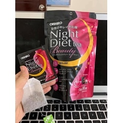 TRÀ giảm cân  NIGHT DIET BEAUTY